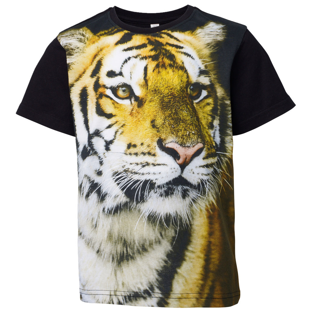T shirt barn | Stort tigertryck | Play in BLWR | Jula